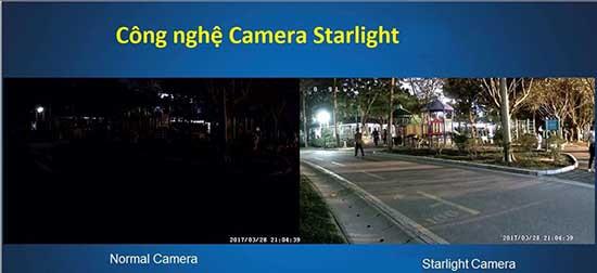 Công nghệ Starlight chuyên dụng ban đêm là công nghệ cao cấp nhất hiện nay