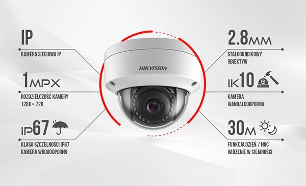 Hikvision DS-2CD1101-I với nhiều tính năng nổi bật