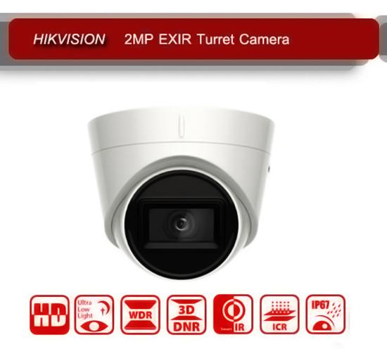 Camera Ốp trần hồng ngoại EXIR 50m Hikvison DS-2CE78D3T-IT3F 2Mp