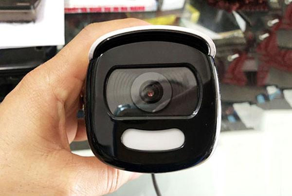 Ống kính tiêu cự F3.6mm (6mm tùy chọn) cho góc quan sát rộng hơn