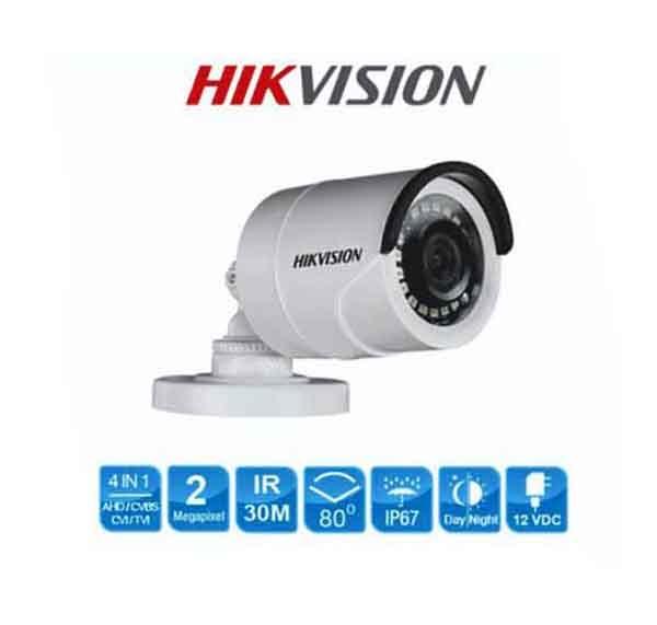 Camera HDTVI Hồng Ngoại 2MP HIKVISION DS-2CE16D0T-IR