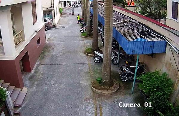 Hình ảnh siêu nét 1080P , tầm nhìn xa lên đến 20m