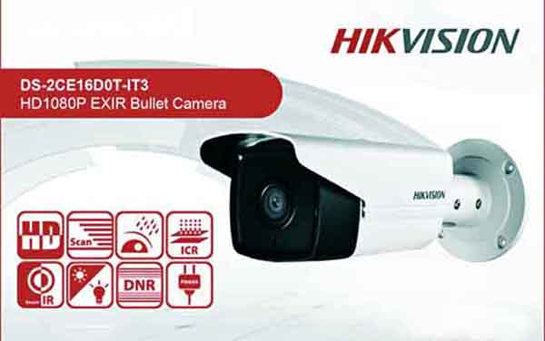 Camera Thân HDTVI 2MP Hikvision DS-2CE16D0T-IT3