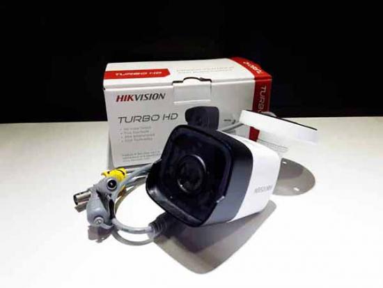 Camera HIKVISION DS-2CE16H0T-ITPF màu trắng, hình ảnh Full HD 5Mp