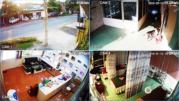 Hình ảnh quan sát đạt chuẩn Ultra HD 5MPsắc nét và gần như không có độ trễ hình