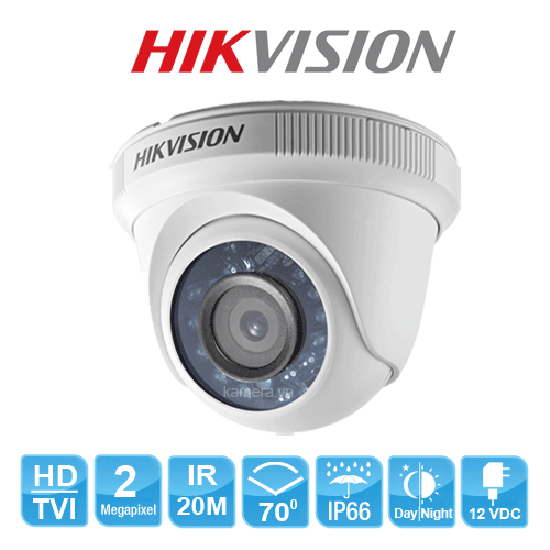 Camera HD-TVI Dome HIKVISION DS-2CE56D0T-IR 2MP