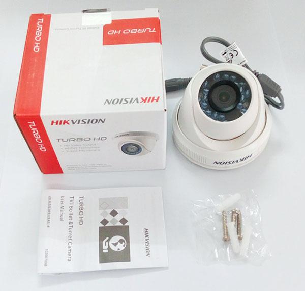 Camera Hikvision DS-2CE56D0T-IR dạng Dome thiết kế hình thức đẹp mắt
