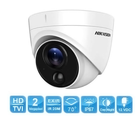 Camera Dome Hikvision DS-2CE71D0T-PIRL 2MP