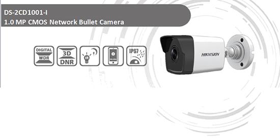 Hikvision DS-2CD1001-I tích hợp nhiều tính năng tiên tiến hiện đại