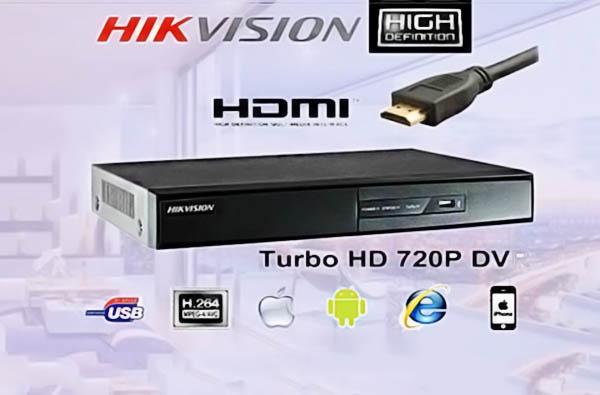DS-7208HUHI-K1 hỗ trợ xem camera trên nhiều trình duyệt khác nhau