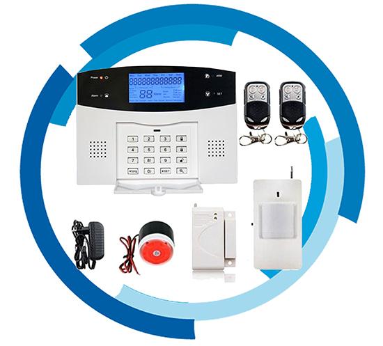 Bộ báo trộm không dây Qua Sim GSM + Điện Thoại Bàn PSTN SmartZ GP05