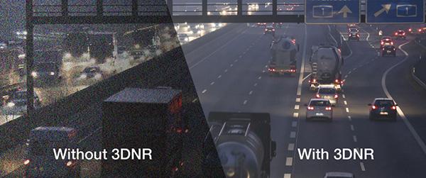 Chức năng chống nhiễu3D DNR cho hình ảnh quan sát luôn nét mịn, cực đẹp