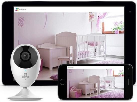 Video sắc nét 720P và ống kính góc rộng, CS-CV206 720Pbao phủ một phạm vi rộng