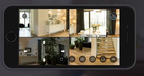 Camera ip wifi hình ảnh sắc nét, xem xét hình giám sát linh hoạt qua điện thoại