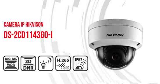Hikvision DS-2CD1143G0-I với nhiều tính năng hiện đại