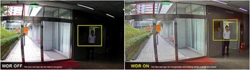 Chức năng WDR cho hình ảnh siêu đẹp, sắc nét, mượt mà Full HD cả ngày lẫn đêm tối