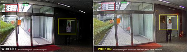 Chức năng chống ngược sáng thực chohình ảnh trong rõ và sáng