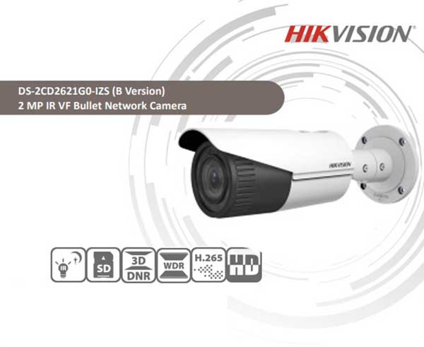 Camera IP Wifi Hồng Ngoại 2Mp Hikvision DS-2CD2621G0-IZS