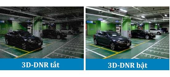 Công nghệ chống nhiễu 3D, chống ngược sáng hình ảnh lúc nào cũng đạt siêu nét, căng mượt