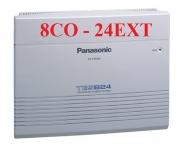 Tổng đài Panasonic kx-tes824 cấu hính 8 trung kê,s 24 máy nhanh