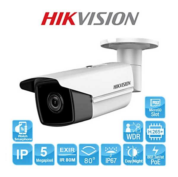 Camera Hikvision DS-2CD2T55FWD-I8 5 megapixel phiên bản nâng cấp mới nhất