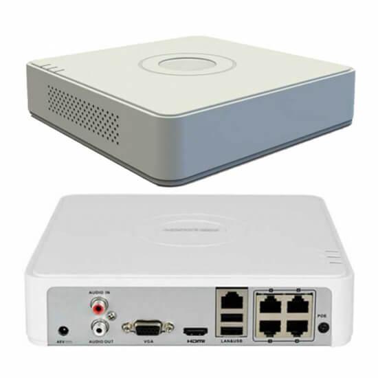 Hỗ trợ 4 cổng PoE chuẩn 802.3af/at, công suất nguồn PoE 36W.