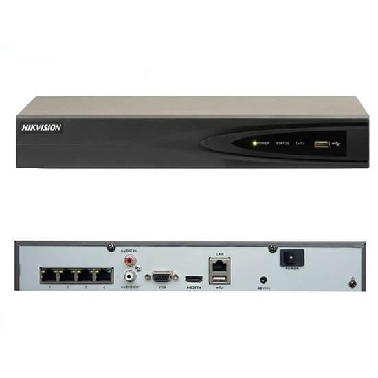 Đầu ghi Hikvision DS-7604NI-K1 (B) hỗ trợ các camera ghi hình cho ra hình ảnh sắc nét nhất