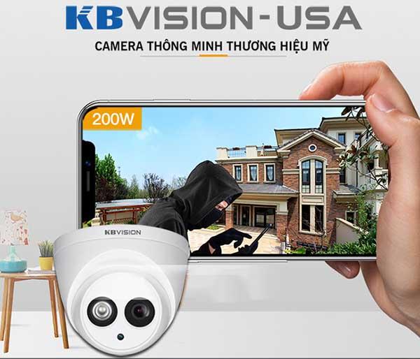 KBVision KX-2004CAluôn cung cấp hình ảnh căng mượt, sắc nét, sinh động