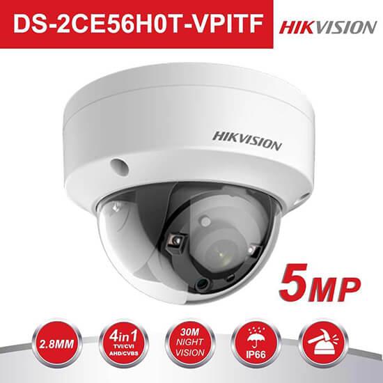 Camera quan sát Hikvision DS-2CE56H0T-VPITF cao cấp hiện đại mới