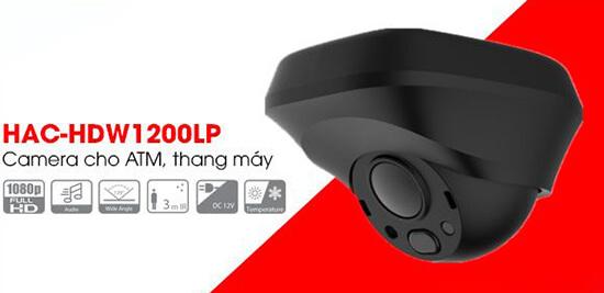Camera 4in1 Dahua HAC-HDW1200LP-S3 thiết kế nhỏ gọn,tinh tế