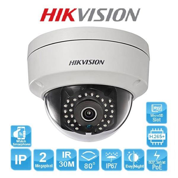 Camera IP Dome Hồng Ngoại 2mp Hikvision DS-2CD2121G0-IWS sản phẩm bán chạy nhất thị trường