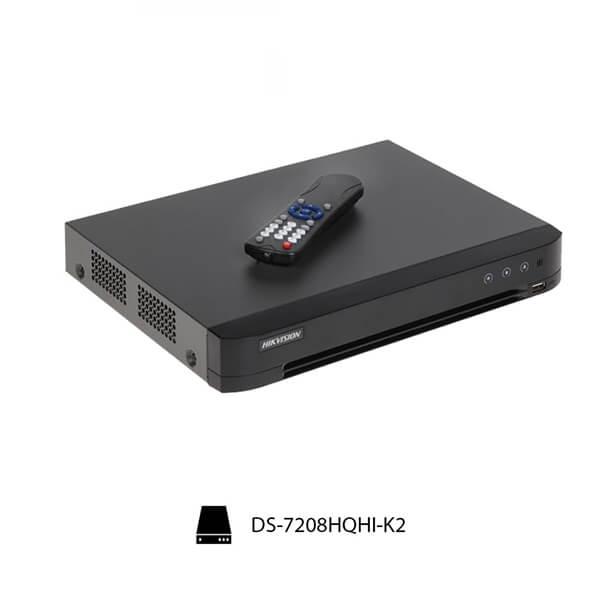 Đầu Ghi Hình Turbo 4.0 Hikvsion DS-7208HQHI-K2 có độ phân giải 3 megapixel