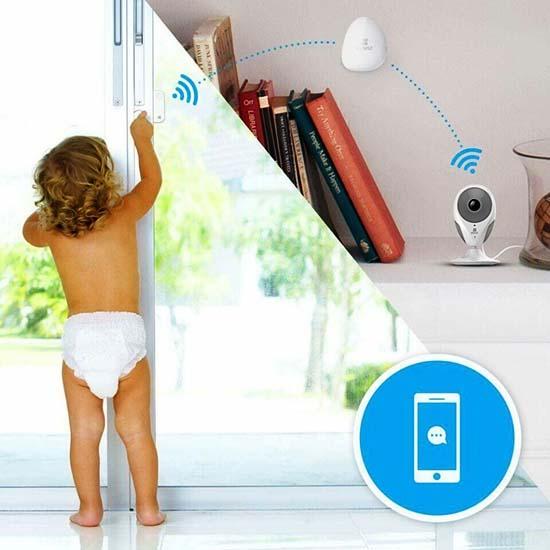 Thiết kế linh hoạt, lắp đặt dễ dàng mọi vị trí, theo dõi trẻ nhỏ toàn diện hơn