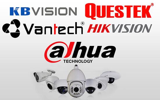 Một số thương hiệu camera giám sát nổi tiếng nhất hiện nay