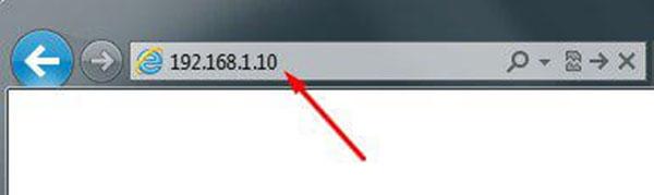 Dùng trình duyệtInternet Explorertrên máy tính truy cập vào địa chỉ IP