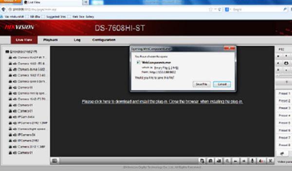 Yêu cầu cài đặt webcomponentsxemcamera Hikvision trên web và Mobile