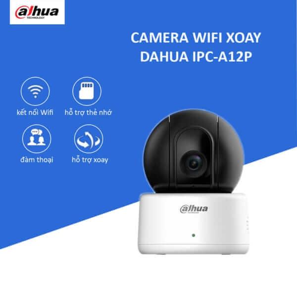 Camera IP Wifi Thông Minh 1.0 MP Dahua IPC-A12P
