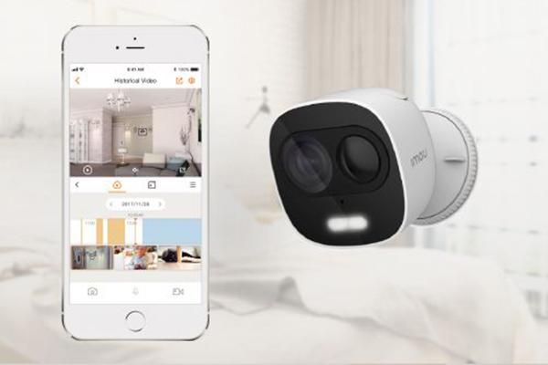 1 Mẫu sản phẩm camera IP chất lượng cao quan sát qua điện thoại mà Vạn Tín cung cấp