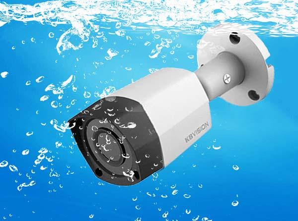 Camera KBVision KX-2011S4 có khả năng chống thấm nước, bụi bẩn 100%,