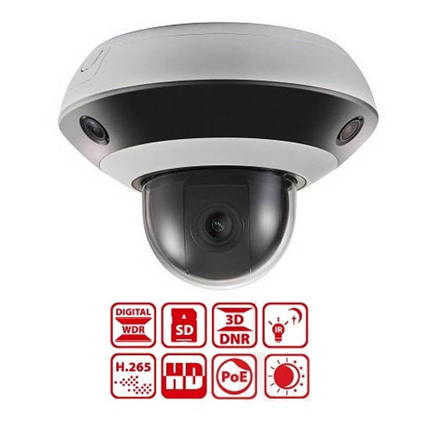 Camera Speed Dome Panovu Mini 2.0 MegapixelHikvision DS-2PT3326IZ-DE3