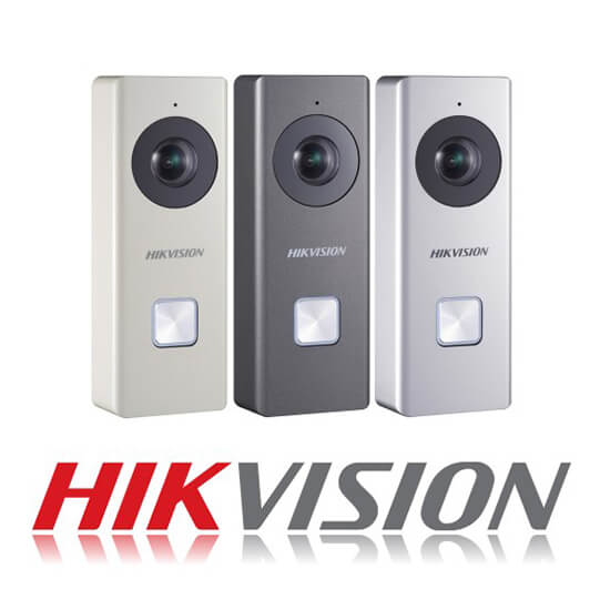 Chuông Cửa WiFi 2MP Hikvision DS-KB6003-WIP