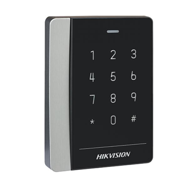 Đầu đọc thẻ Mifare có nút bấm HikVision DS-K1102MK