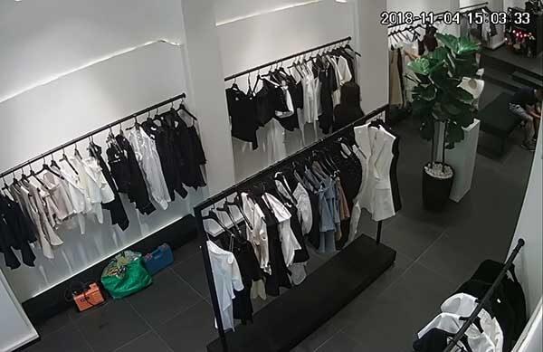 Lắp đặt camera giám sát Khu vực trưng bày sản phẩm của shop