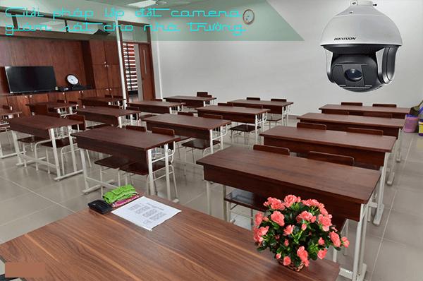 Lắp đặt hệ thống camera quan sát cho trường học là điều quan trọng và cần thiết