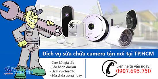 Vạn Tín cung cấp dịch vụ sửa chữa camera quan sát TpHCM uy tín, chất lượng, giá rẻ tận nhà