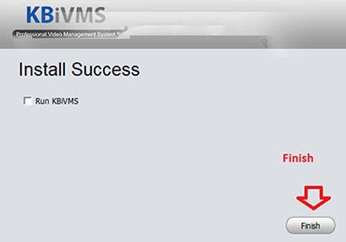INSTALL chạy phần mềm KBiVMS