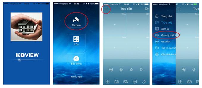 Hướng dẫn tải và cài đặt phần mềm Kbview Lite xem camera trên PC và Mobile
