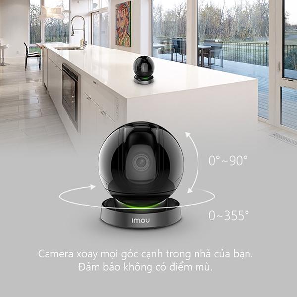 Có khả năng xoay 360 độ cho ra hình ảnh sắc nét full HD