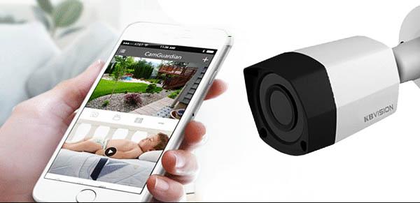 KX-2011S4 cho phép người dùng theo dõi hình ảnh ở MỌI NƠI TRÊN THẾ GIỚI