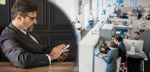 Trang bị camera giám sát văn phòng giúp theo dõi mọi hoạt động của nhân viên